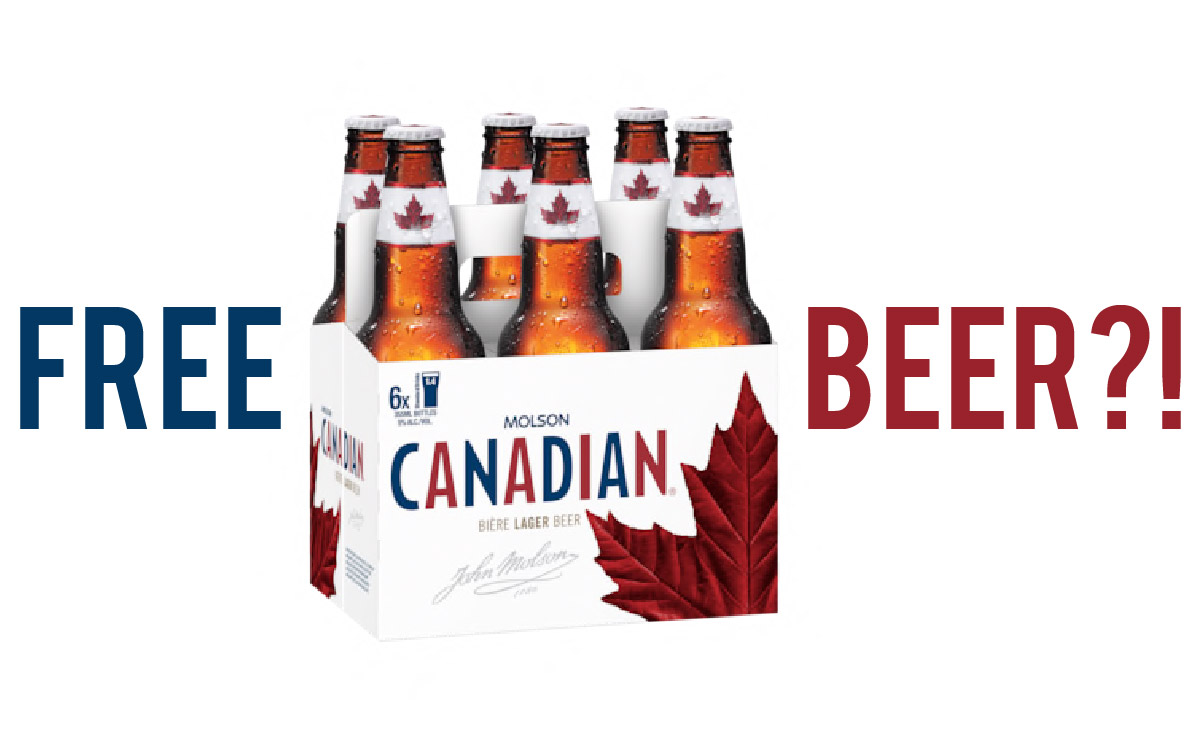 Molson Canadian Free Beer Facebook Scam