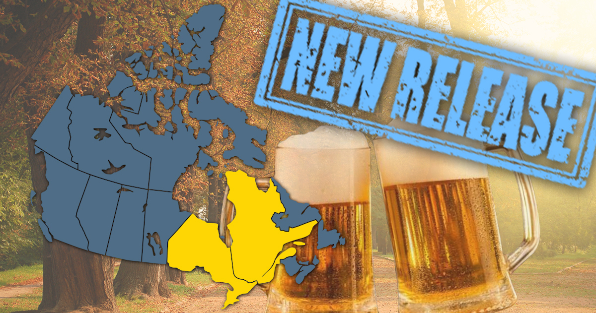 2018 Fall Beer Releases of Central Canada