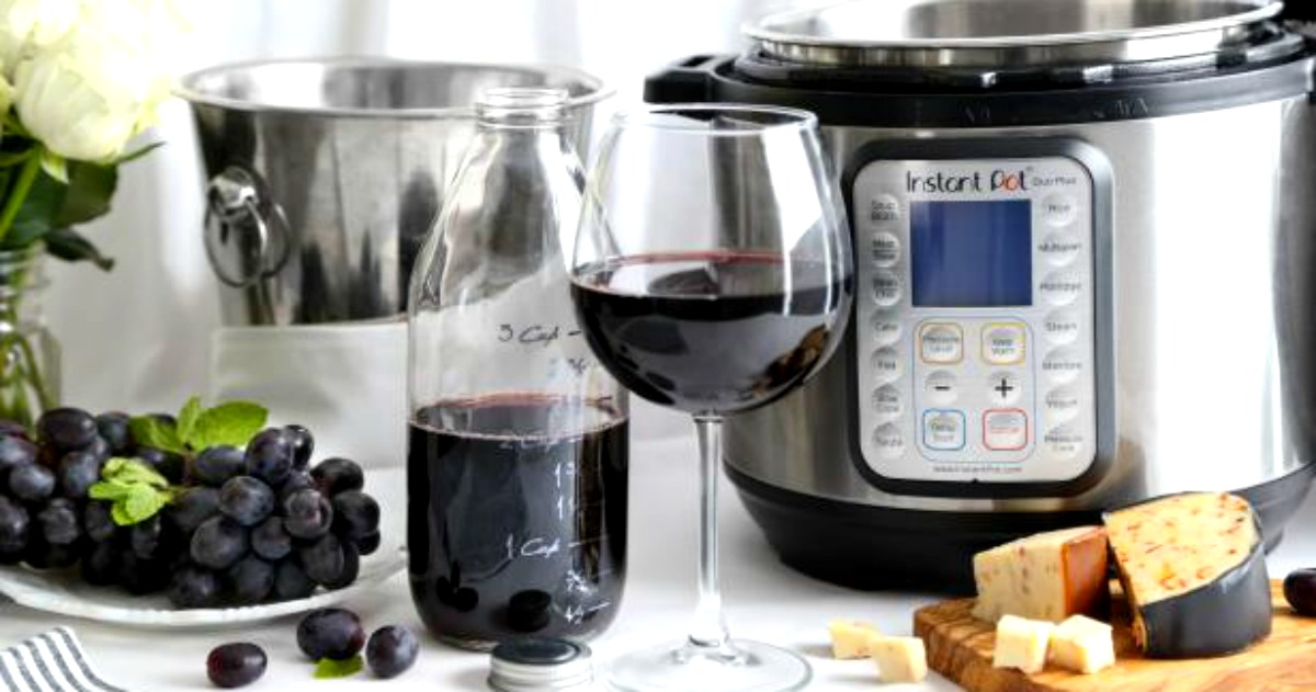 Instant Pot Wine: Image Source: Heather Baird at sprinklebakes.com  | Just Wine