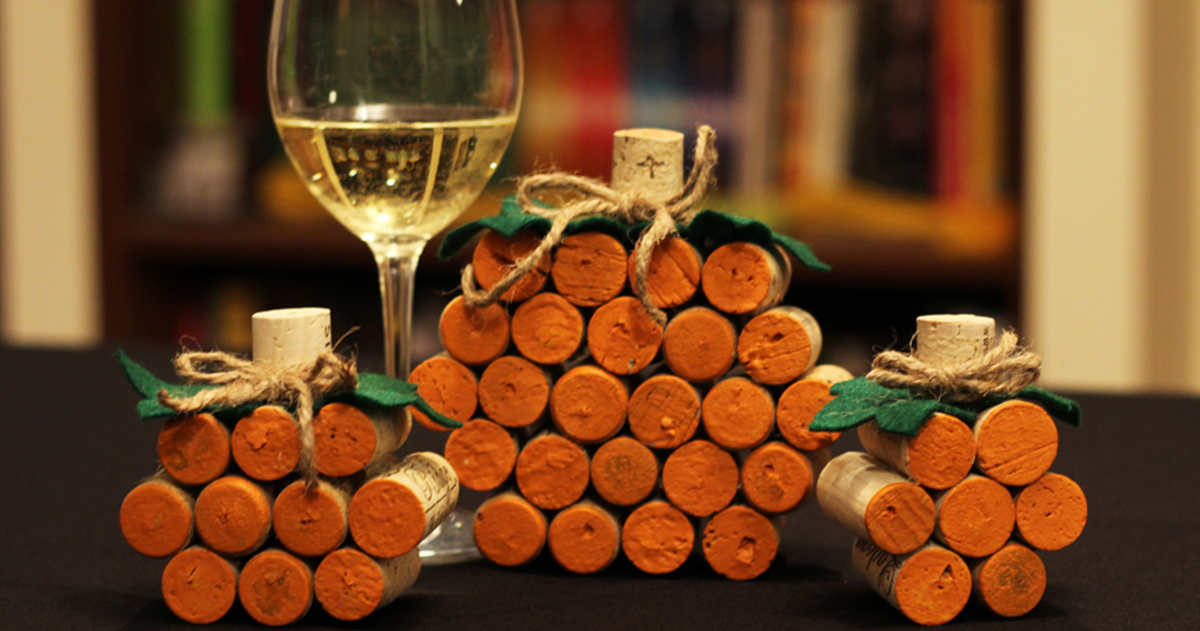 6 Easy DIY Halloween Crafts For Wine Lovers  