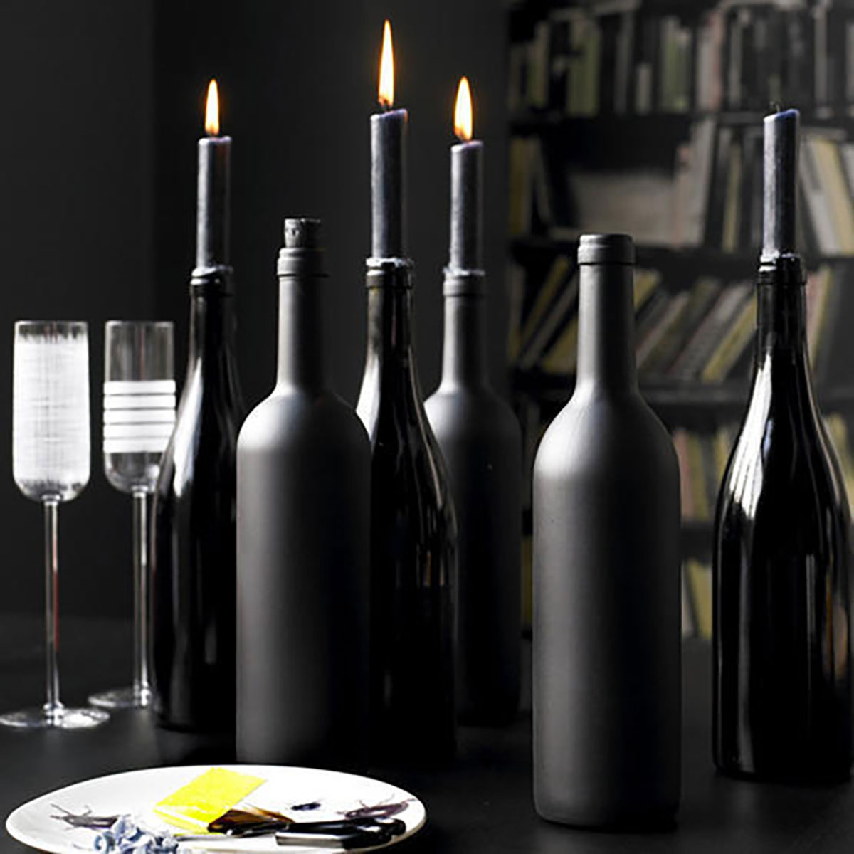 chalkpaint-wine-bottle-candleholders1