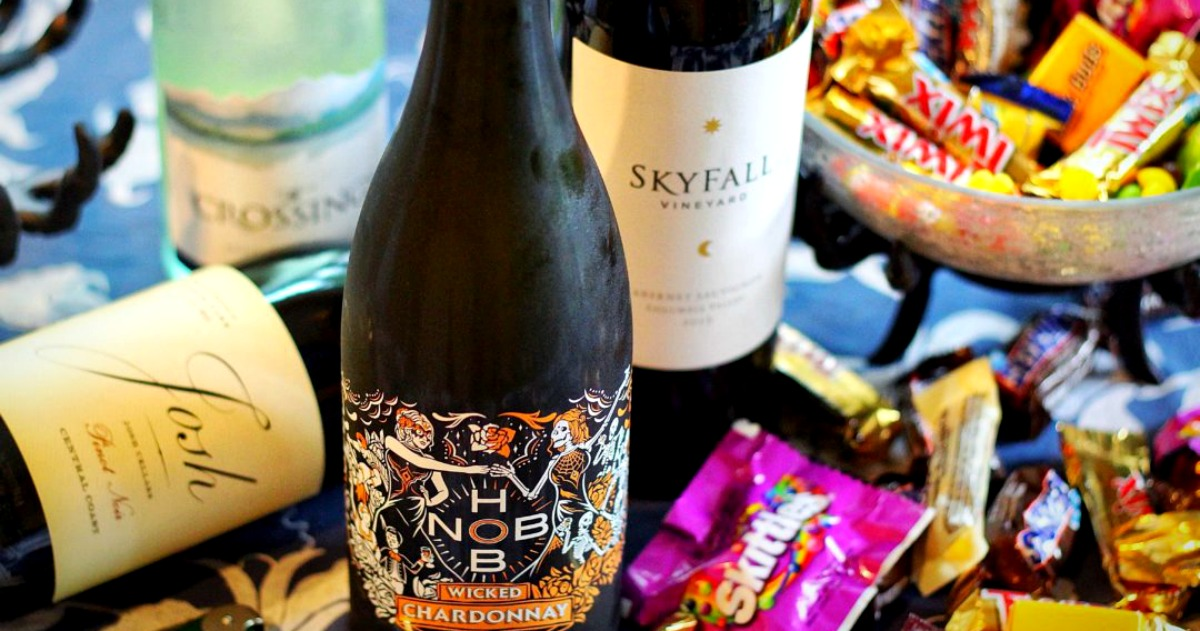 The Best Wines to Pair with Halloween Candy |