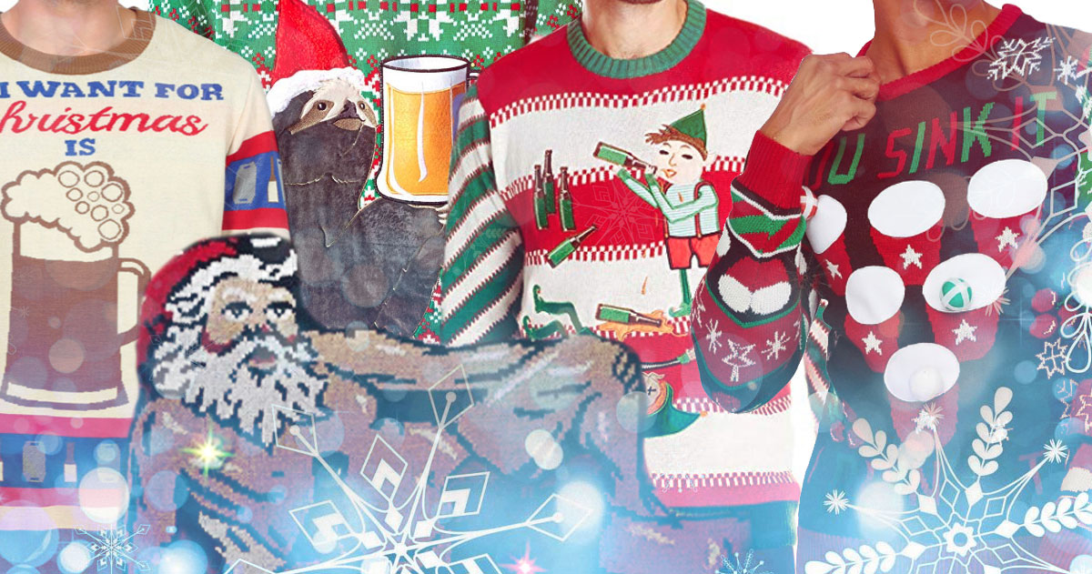 Beer-Themed Ugly Beer Christmas Sweaters You Can Buy Online