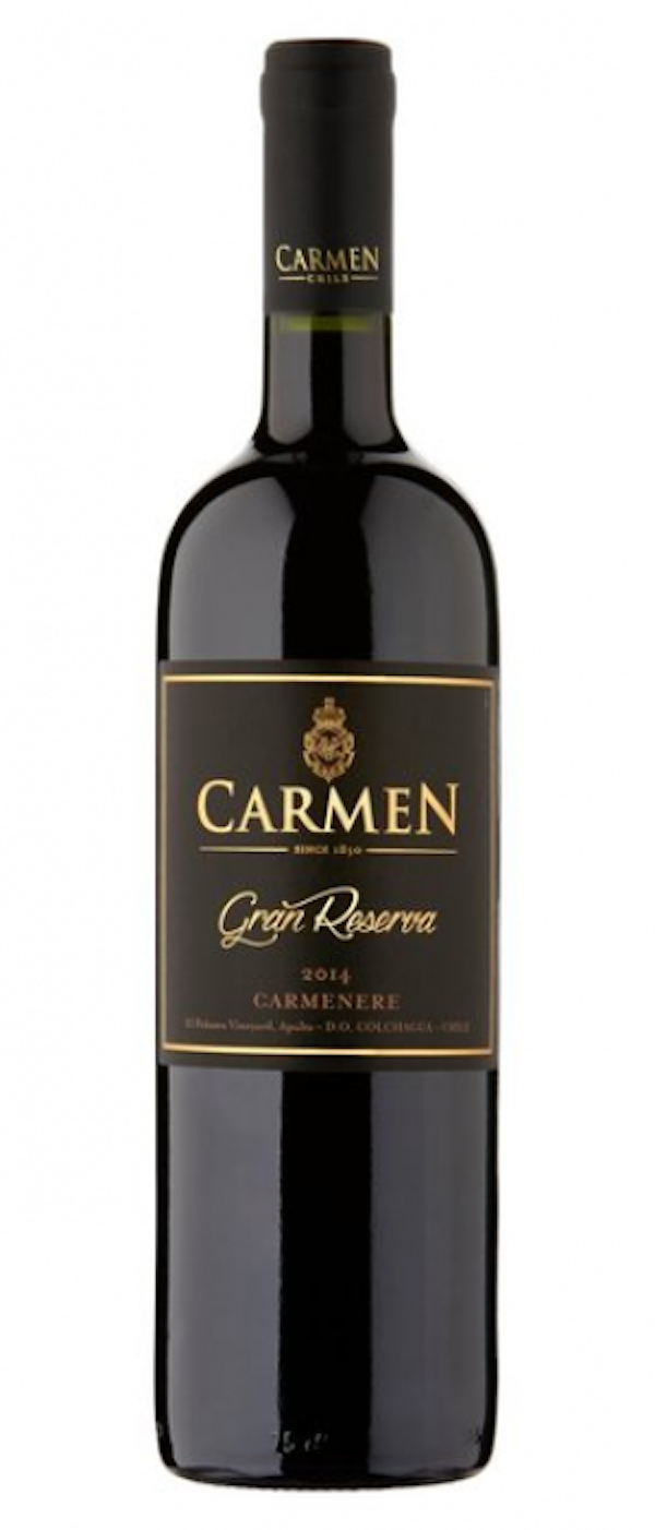 20 wines under $20, Carmen Gran Reserva Carmenere, Chile, Select Wines