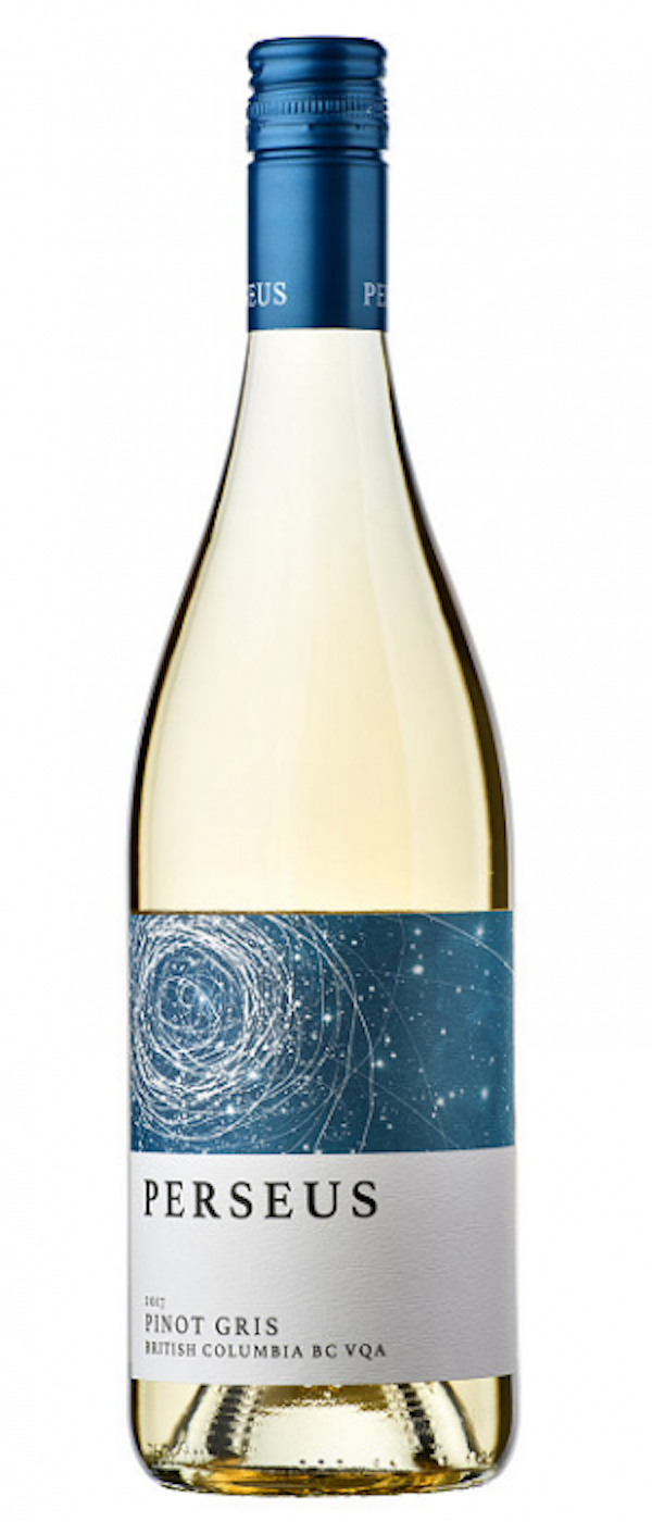 20 wines under $20, Perseus Pinot Gris, the Hatch Wines, Okanagan Valley, BC Canada