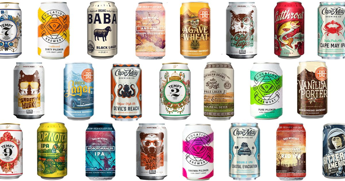 15 Unique Beer Can Designs for Beer Can Appreciation Day