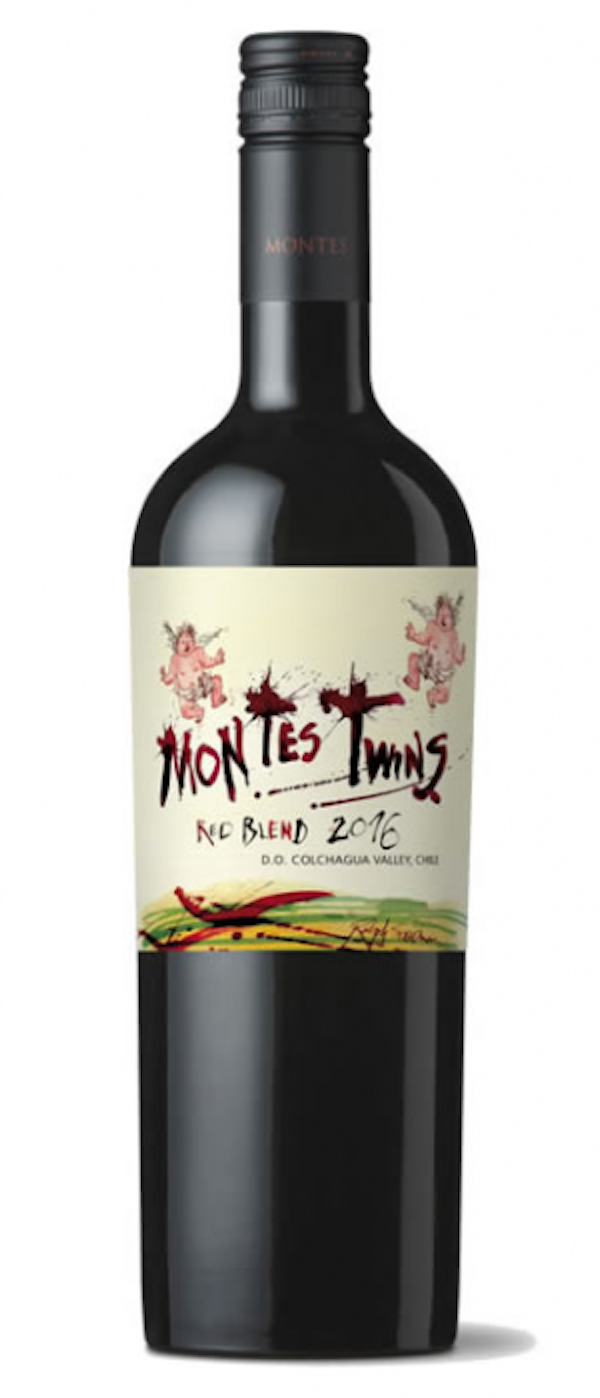20 Wines Under $20, Montes Twins Red Blend, Chile, Trialto