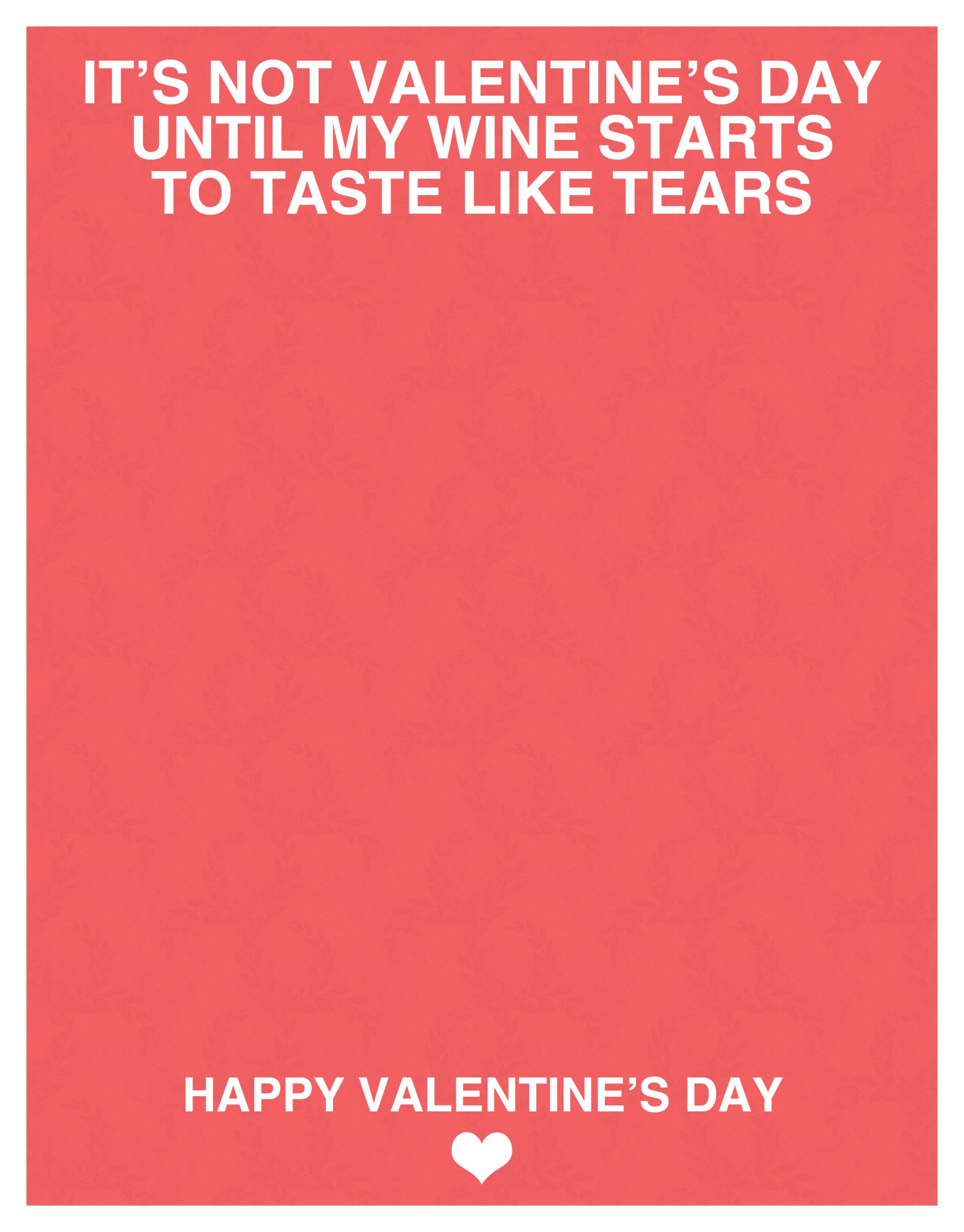 valentine's day cards for wine lovers
