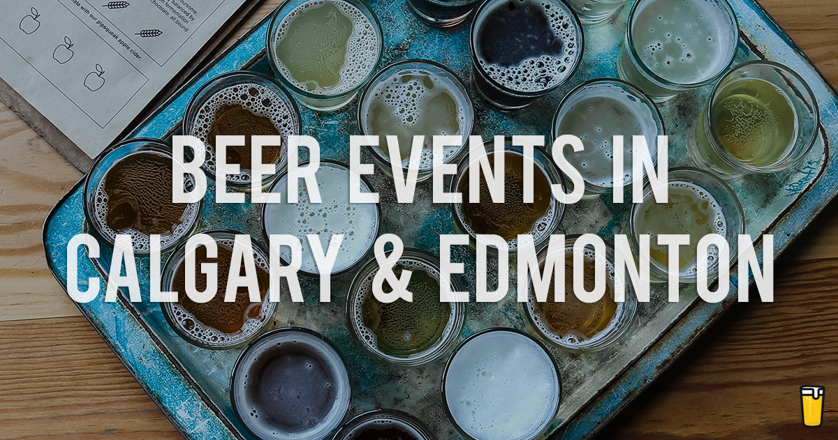 Calgary & Edmonton Beer Events in September 2019