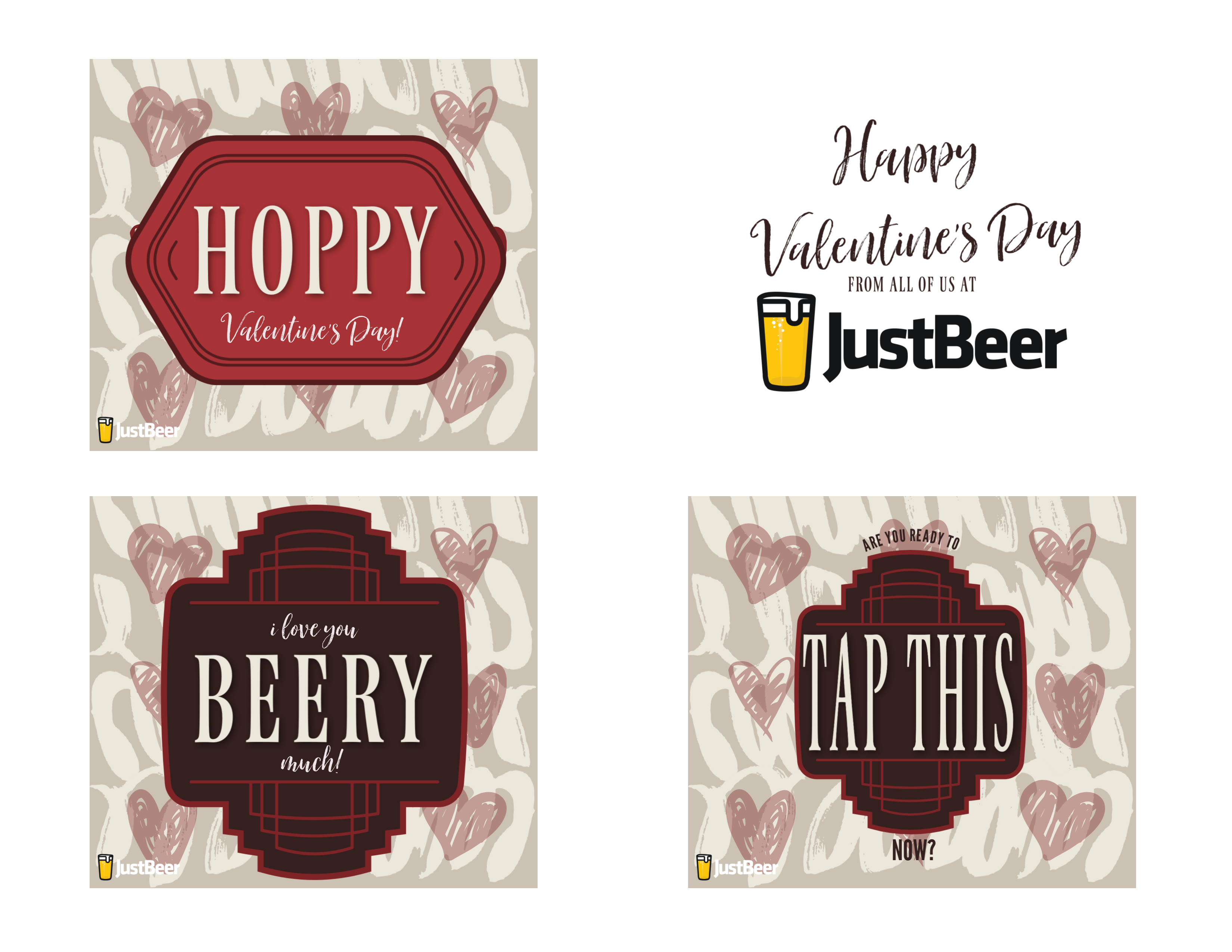 6 Valentine S Day Beer Labels Perfect For Last Minute Gifts