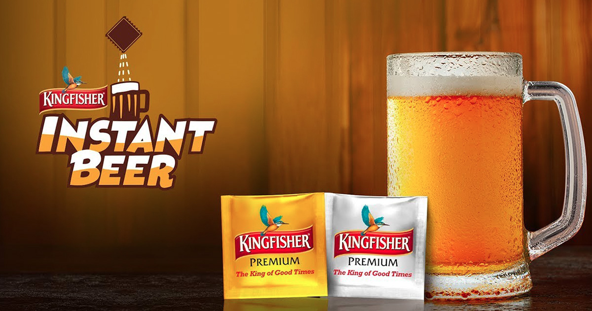 Kingfisher Launches Instant Beer Sachets For Beer Anytime, Anywhere