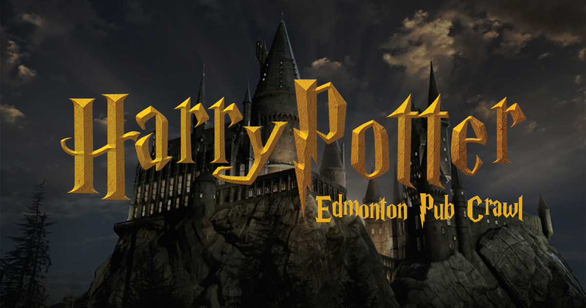 A Harry Potter Themed Pub Crawl is Coming to Edmonton