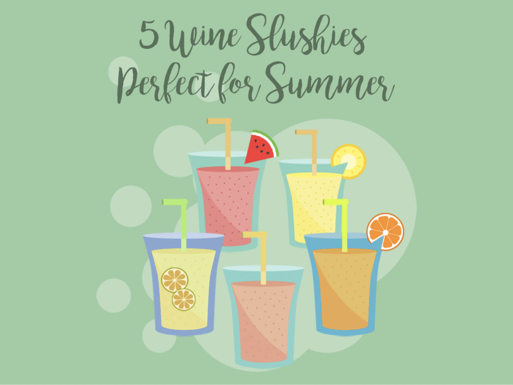 5 Wine Slushies You Need to Make This Summer |