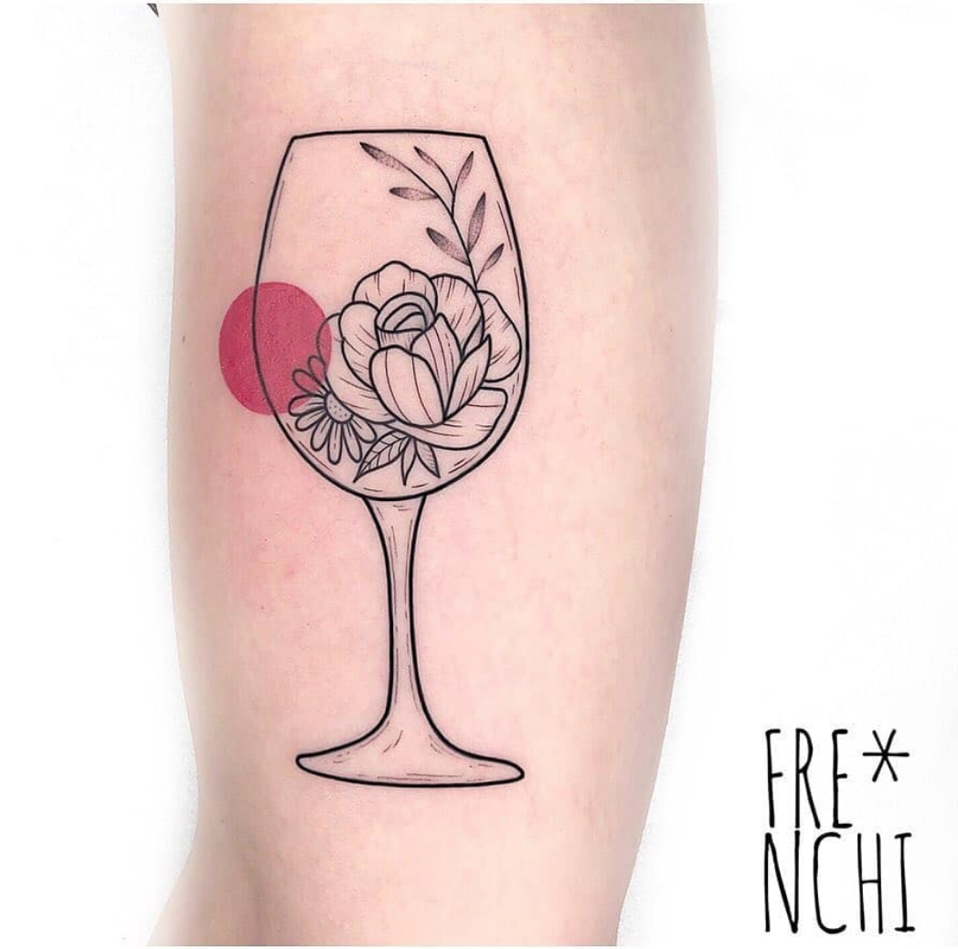tattoos for wine lovers