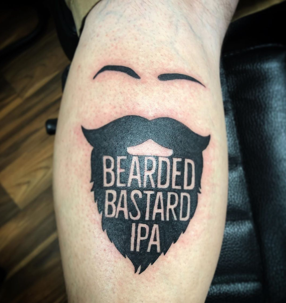 beer tattoo
