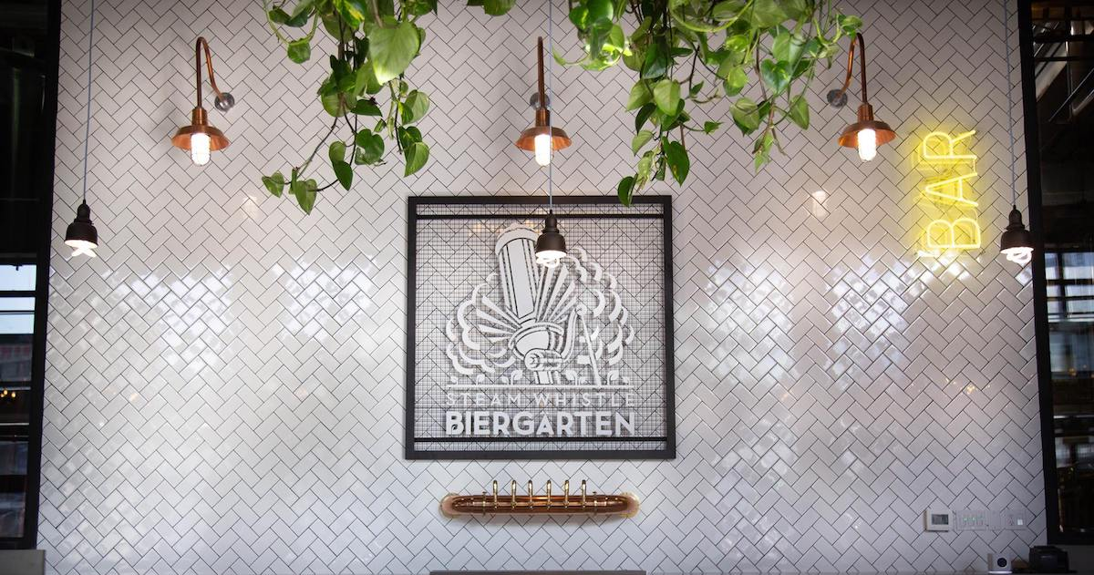 Steam Whistle Opened The Ultimate German 'Biergärten' in Toronto and We Couldn't Be More Excited