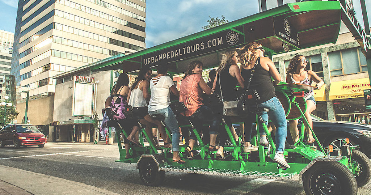 "8 Party Bike ""Booze Cruises"" in Canada You Need to Try Out This Spring/Summer"