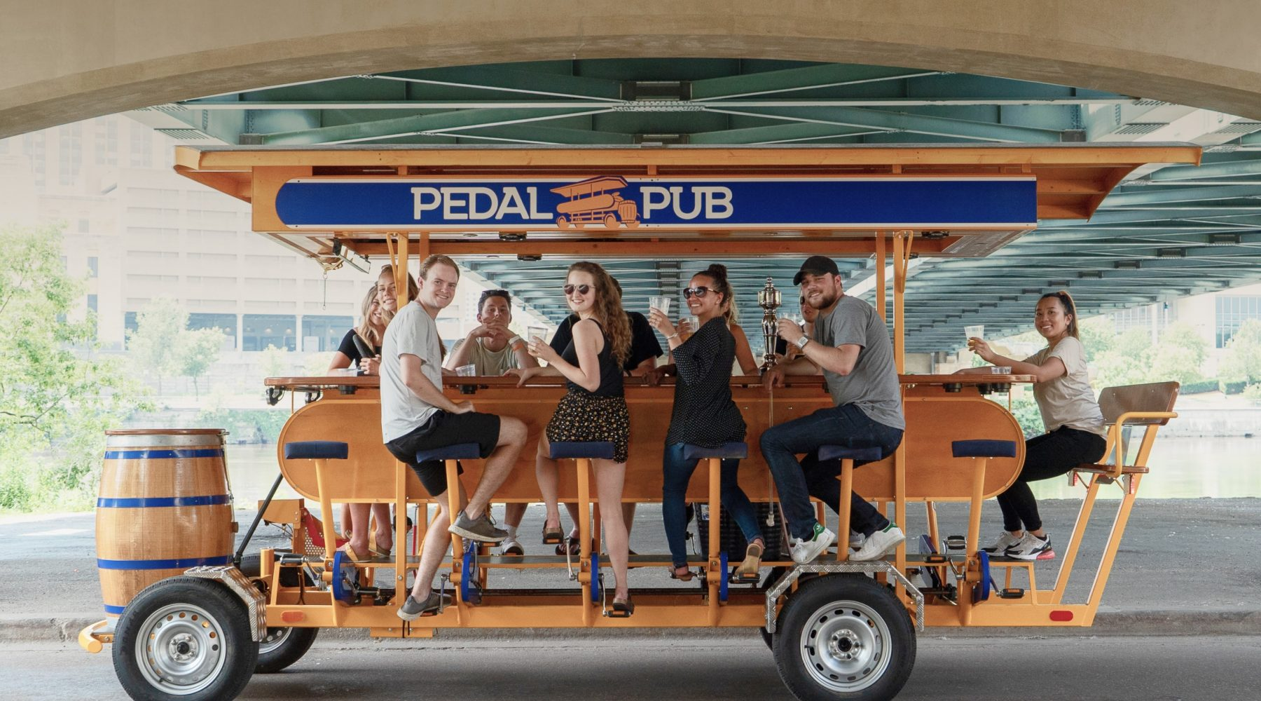 You Can Officially Drink Beer on a Party Bike in Calgary
