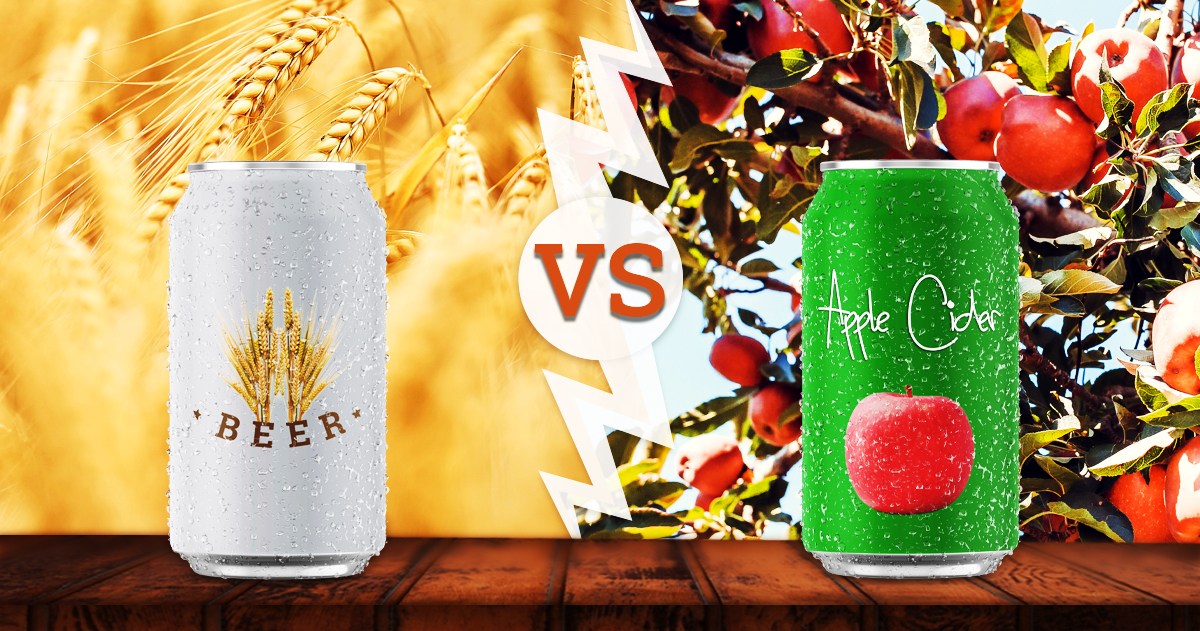 Beer vs. Cider — What's the Difference?