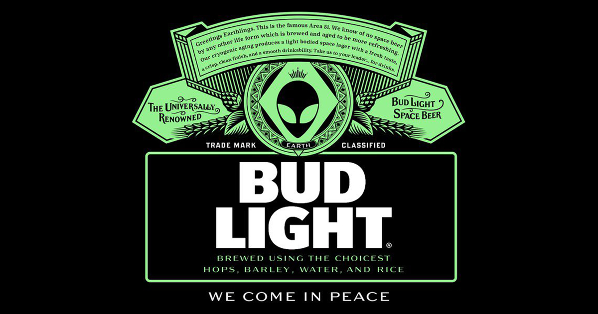 Bud Light is Giving Away Free Beer to Aliens at Area 51