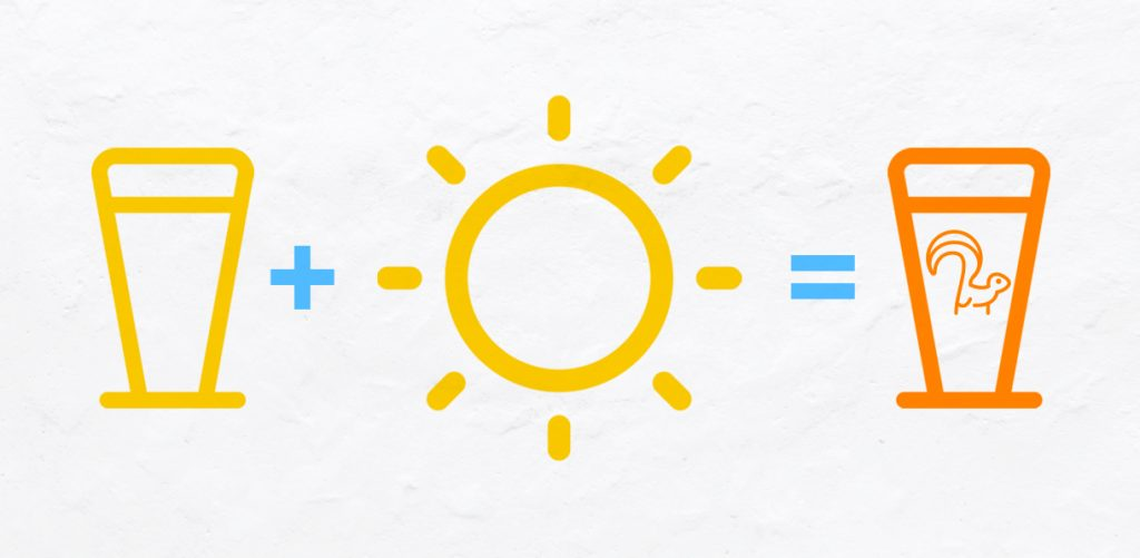 "How sunlight makes beer becomes ""skunked"""
