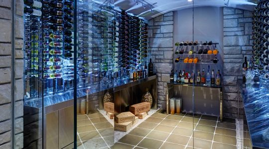 8 Luxury Wine Cellars to Use as Inspiration for Your Wine Room | Just Wine