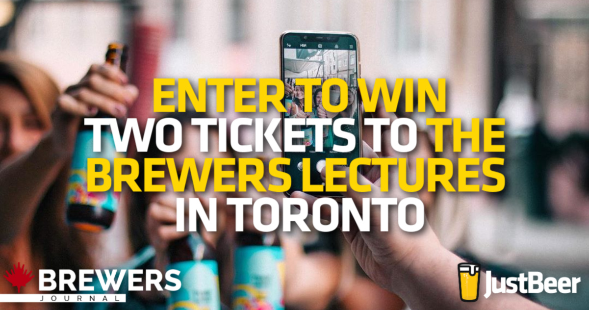 *CONTEST* Enter to Win Two Tickets to the Brewers Lecture in Toronto, Ontario