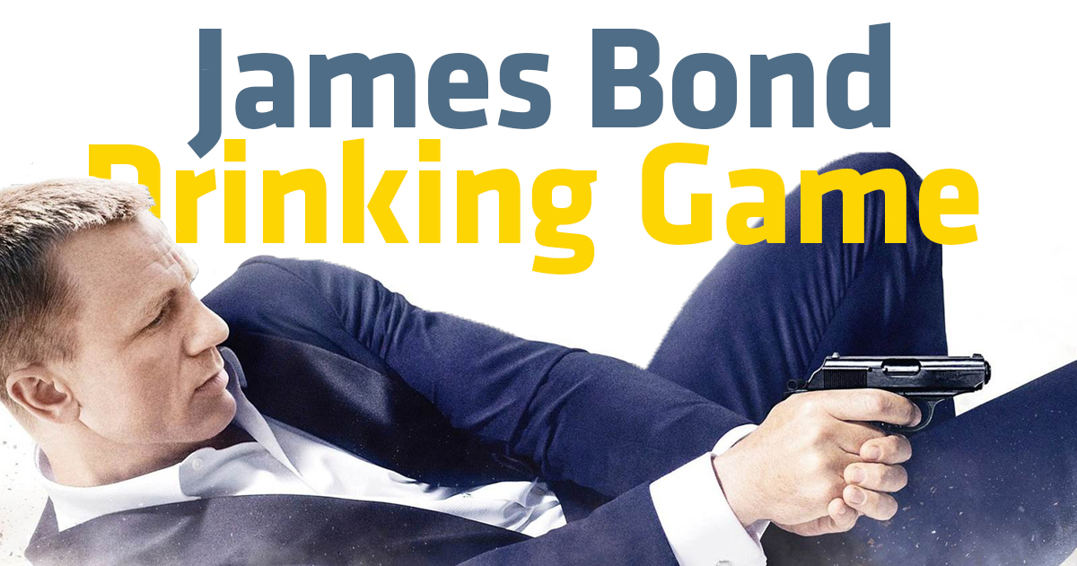 James Bond Drinking Game – What Is It and What Are the Rules?