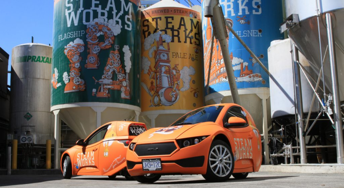 Vancouver's Steamworks Brewing Company to Fuel Electric Cars With Beer