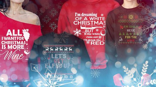 8 Wine-Themed Ugly Christmas Sweaters You Need This Holiday | Just Wine