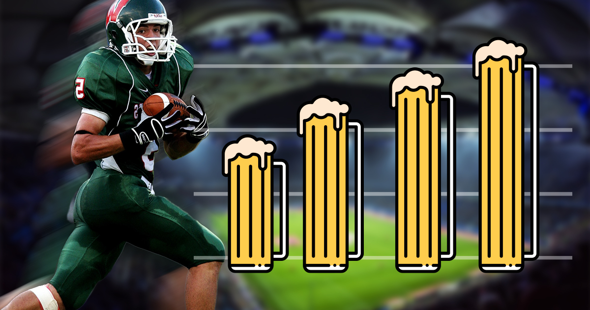 How Much Beer is Consumed on Super Bowl Sunday? – Superbowl Food Statistics