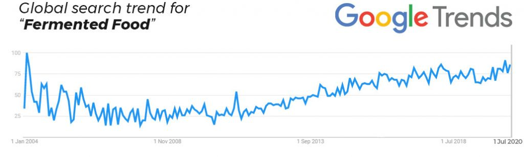 google-trends-fermented-food-search-trend-over-time