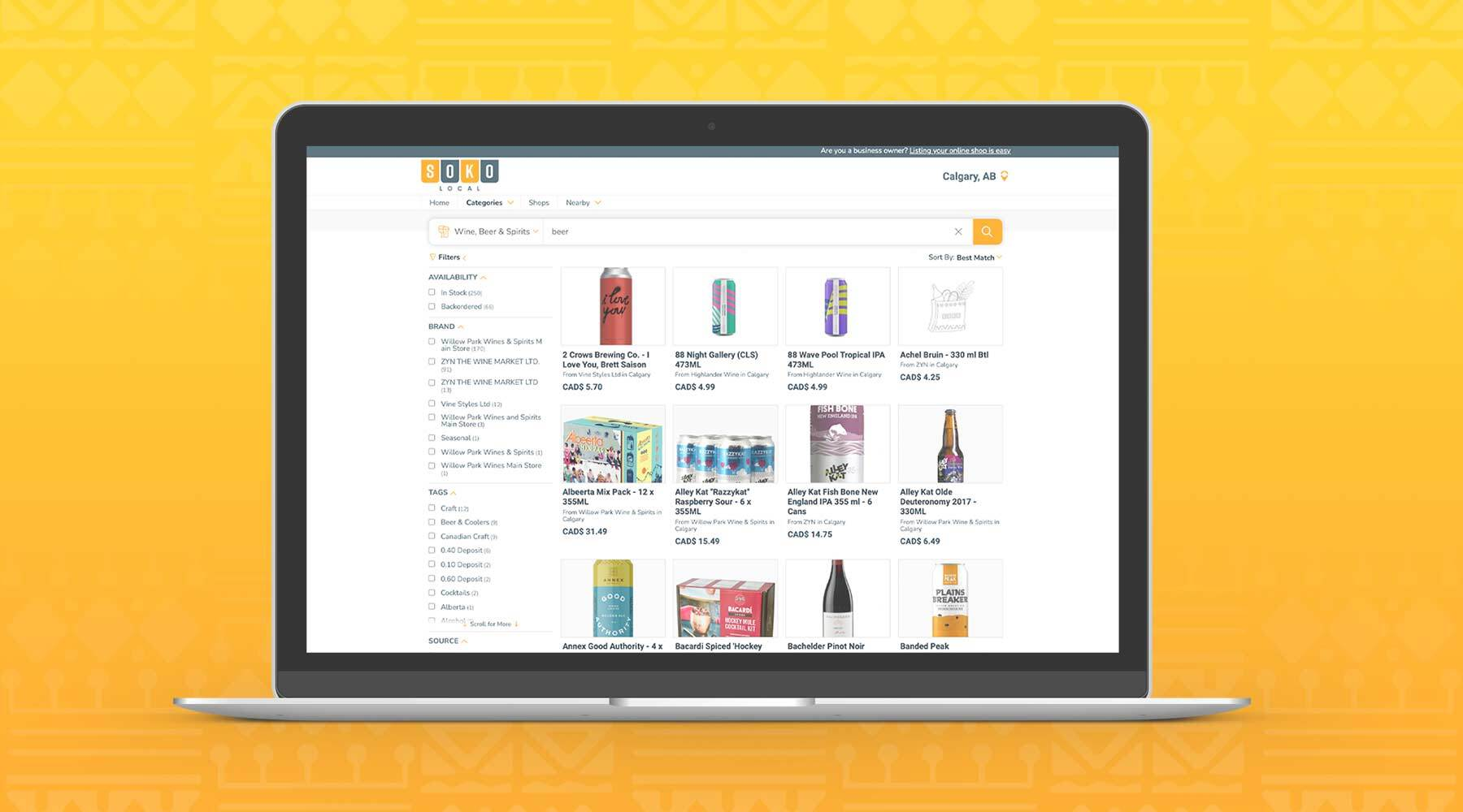 The SokoLocal App Lets You Shop Local Beer All in One Place